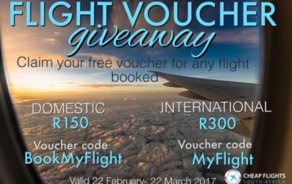 Discount Voucher: Book a Flight and Save