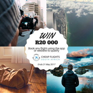 Win R20 000 with Cheap Flights South Africa