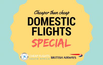 DOMESTIC FLIGHTS SPECIAL