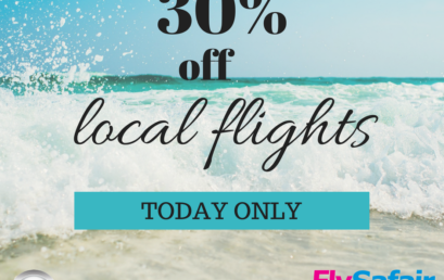 LOCAL FLIGHTS- 30% OFF