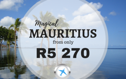 MAGICAL MAURITIUS FROM ONLY R5 279