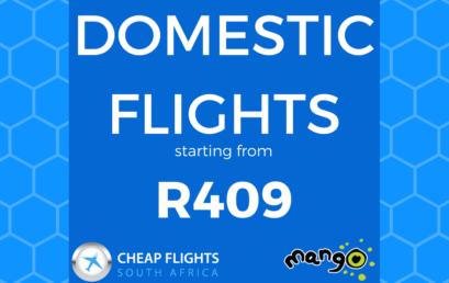 MANGO FLIGHTS FROM R409