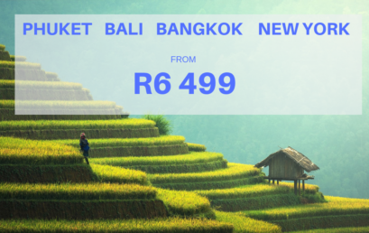 UNBEATABLE DEALS TO BALI, PHUKET AND NEW YORK